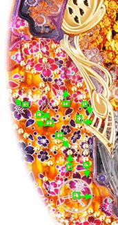 CR金の花満開 ZAST 寄り釘