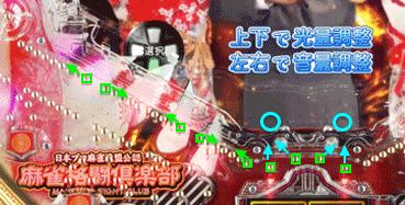 CRぱちんこ麻雀格闘倶楽部 道釘〜ヘソ釘