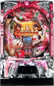 CRぱちんこ麻雀格闘倶楽部 筐体画像