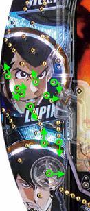 CRルパン三世~LAST GOLD~ 319ver. 寄り釘