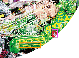 CRフィーバーマクロスフロンティア3 アタッカー・電チュー