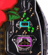 【釘読み攻略!】P沖7 BLACK(マルホン)【ストローク・釘見・釘読み・見るべき釘】スルー・電チュー