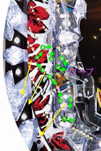 【釘解説!】P北斗の拳8覇王(Sammy)【ストローク・釘攻略・釘読み・見るべき釘】寄り釘