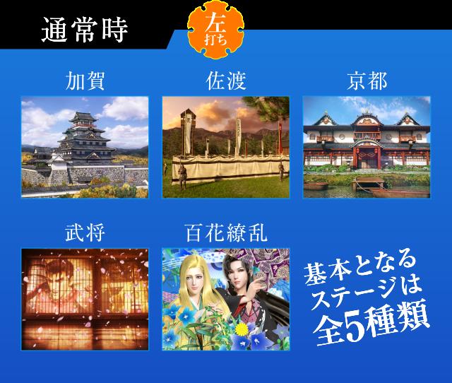 花の慶次~蓮 ゲームフロー