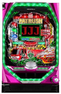 PパトラッシュV GREEN(ライトミドル) ジェイビー 筐体画像
