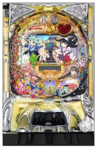ぱちんこ戦国コレクション コナミアミューズメント 筐体画像
