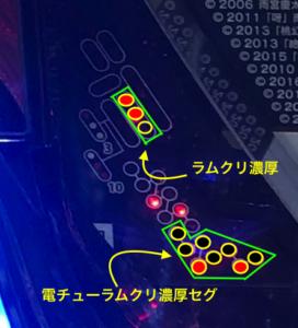 P牙狼 月虹ノ旅人 サンセイR&D 朝一リセット(ラムクリ)ランプ判別