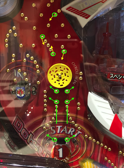 Pニュートキオ(ハカマタイプ)ハカマ釘(1チャッカー)・1チャッカー