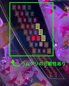 ぱちんこ 冬のソナタ SWEET W HAPPY Version 京楽 朝一リセット(ラムクリ)ランプパターン